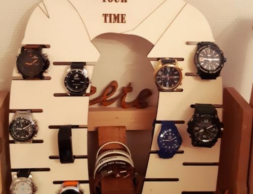 Design horloge houder